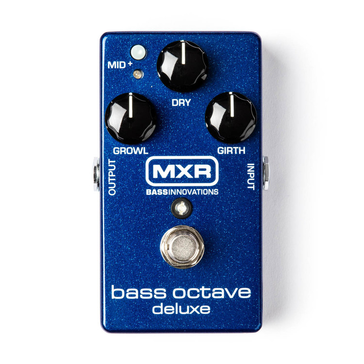 MXR Bass Octave Deluxe Guitar Effect Pedal