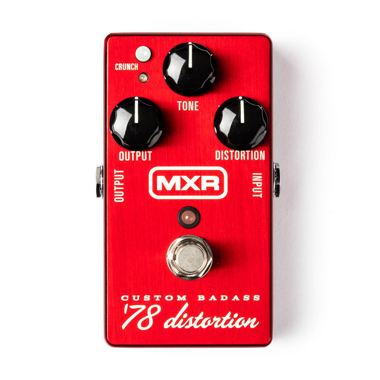 MXR Custom Badass `78 Distortion - Limited Edition Guitar Effect Pedal