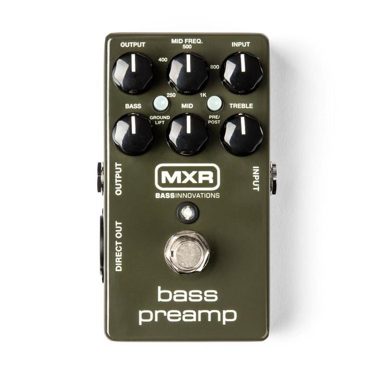 MXR Bass Preamp Guitar Effect Pedal