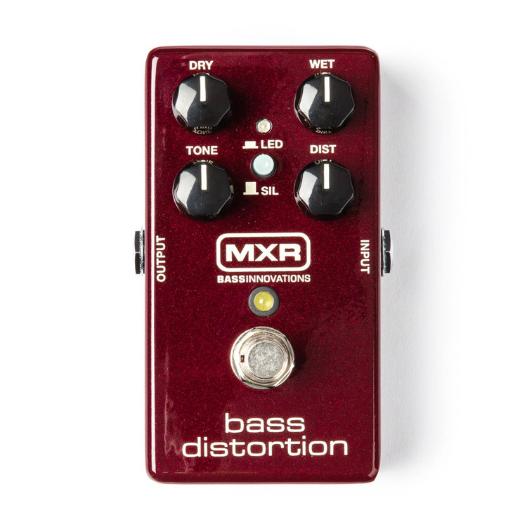MXR Bass Distortion Guitar Effect Pedal