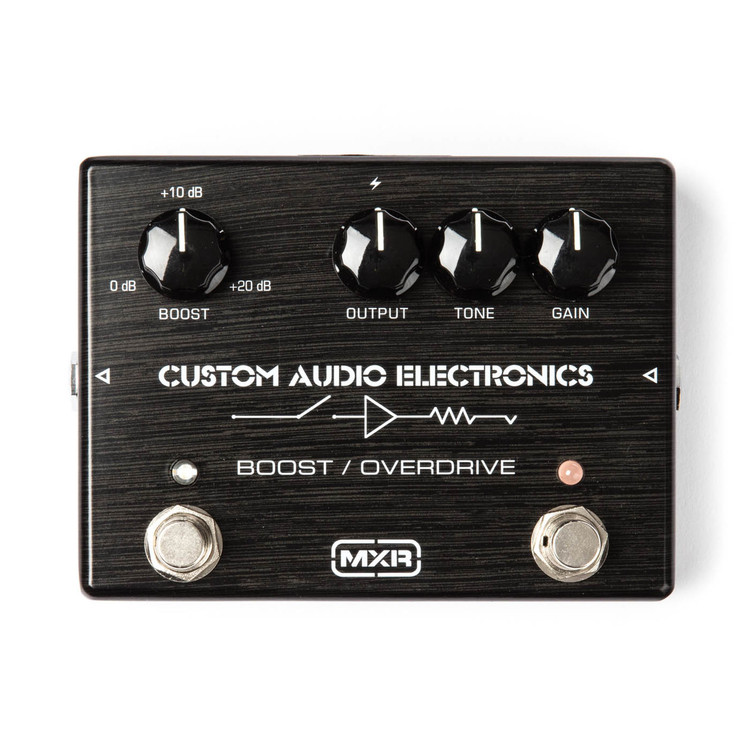 MXR Custom Shop Boost/Overdrive Pedal Guitar Effect Pedal