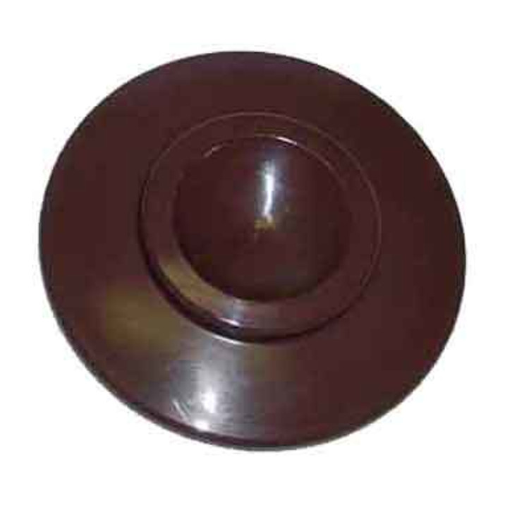 UPRIGHT PIANO CASTER CUPS WALNUT (PACK OF 4)