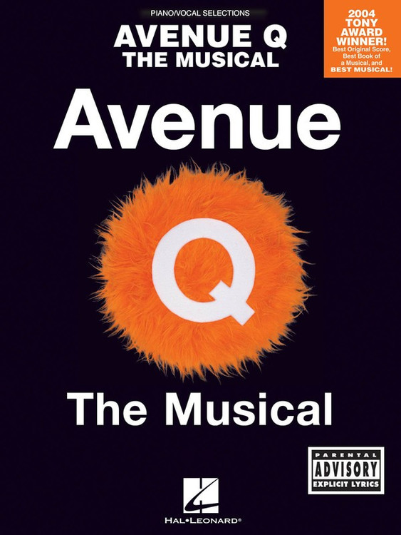 AVENUE Q VOCAL SELECTIONS PVG SHEET MUSIC BOOK