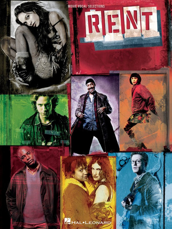 RENT MOVIE VOCAL SELECTIONS PVG SHEET MUSIC BOOK