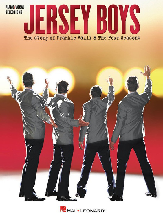 JERSEY BOYS VOCAL SELECTIONS PVG SHEET MUSIC BOOK