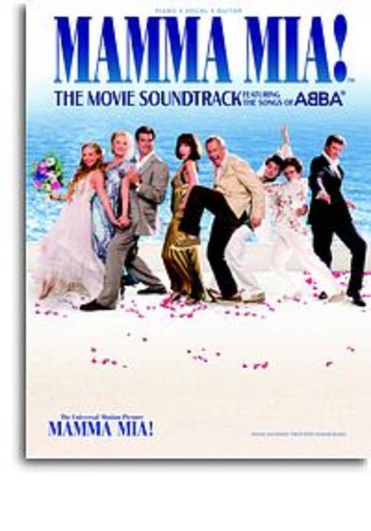 MAMMA MIA! MOVIE SOUNDTRACK PVG SHEET MUSIC BOOK