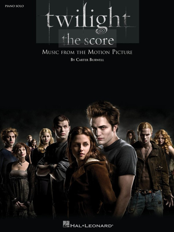 TWILIGHT SCORE PIANO SOLO SHEET MUSIC BOOK