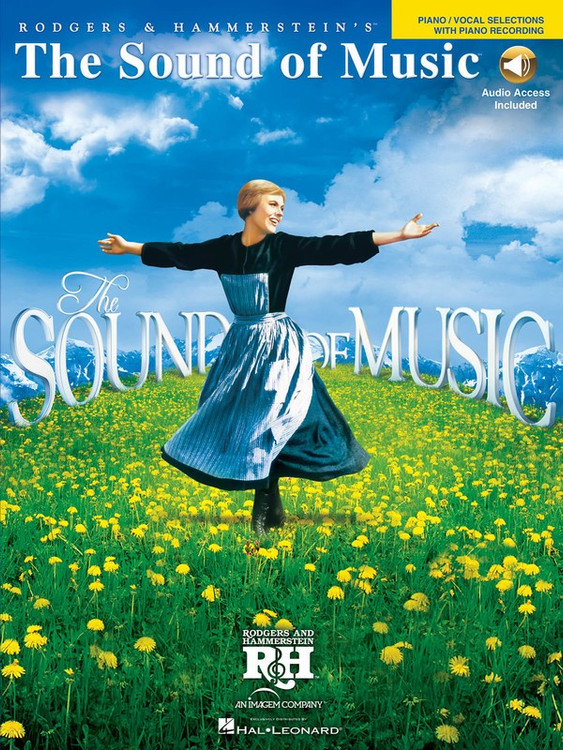 SOUND OF MUSIC VOCAL SELECTIONS PVG BK/OLA SHEET MUSIC BOOK
