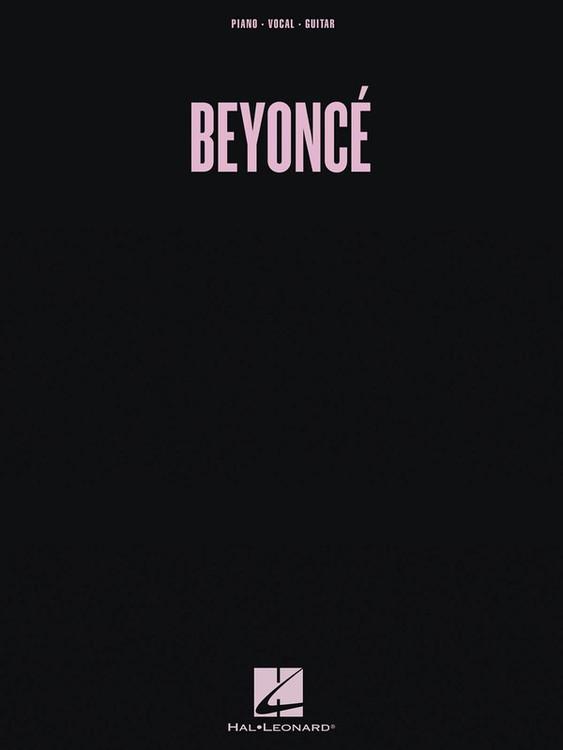 BEYONCE PVG SHEET MUSIC BOOK