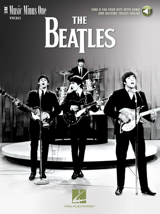 THE BEATLES MUSIC MINUS ONE VOCALS BK/OLA SHEET MUSIC BOOK