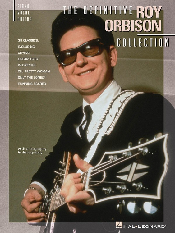 DEFINITIVE ROY ORBISON COLLECTION PVG SHEET MUSIC BOOK