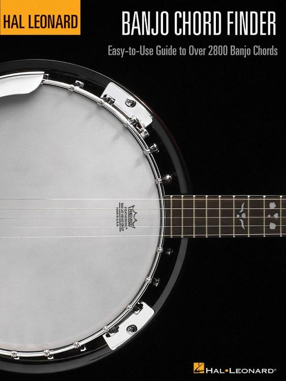 Hal Leonard BANJO CHORD FINDER (9 X 12) SHEET MUSIC BOOK