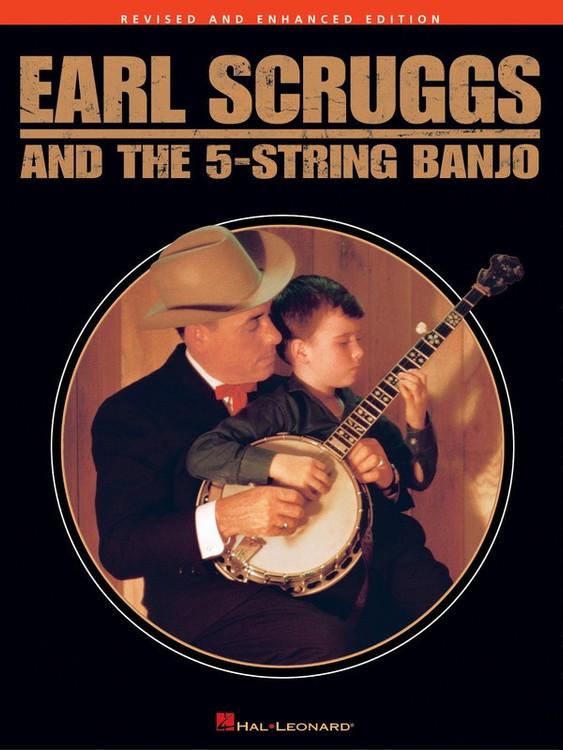 EARL SCRUGGS 5 STRING BANJO REV ED SHEET MUSIC BOOK