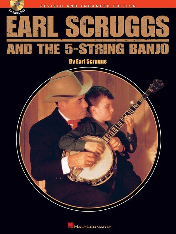 EARL SCRUGGS & THE FIVE STRING BANJO BK/CD SHEET MUSIC BOOK