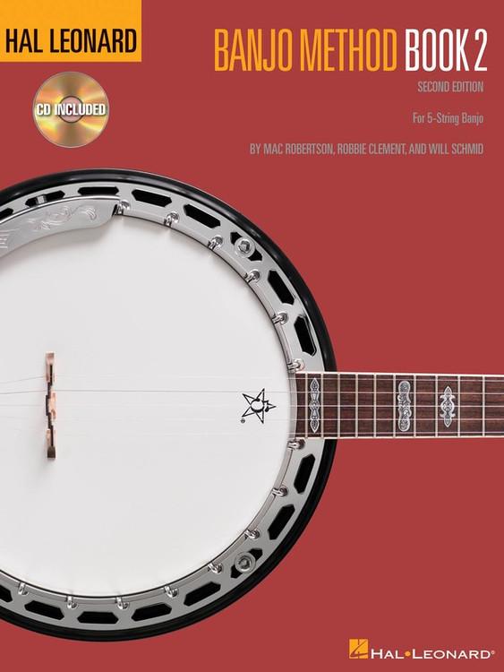 Hal Leonard BANJO METHOD BK 2 BK/CD 2ND EDITION SHEET MUSIC BOOK