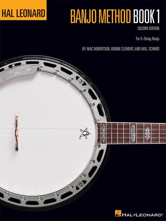 Hal Leonard BANJO METHOD BK 1 2ND EDITION SHEET MUSIC BOOK