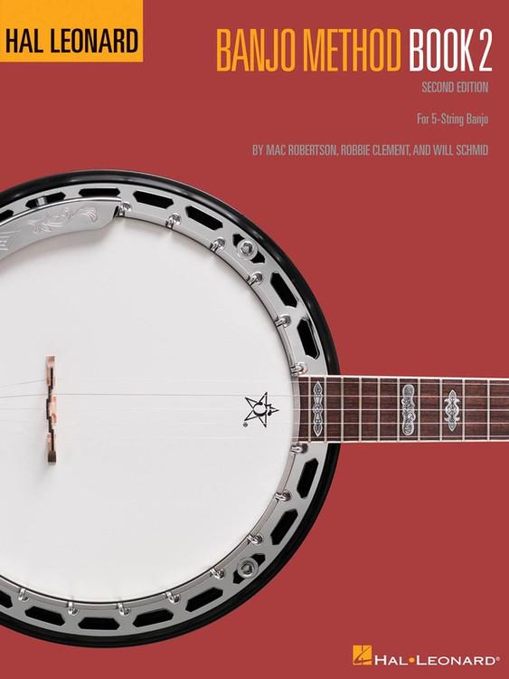 Hal Leonard BANJO METHOD BK 2 2ND EDITION SHEET MUSIC BOOK