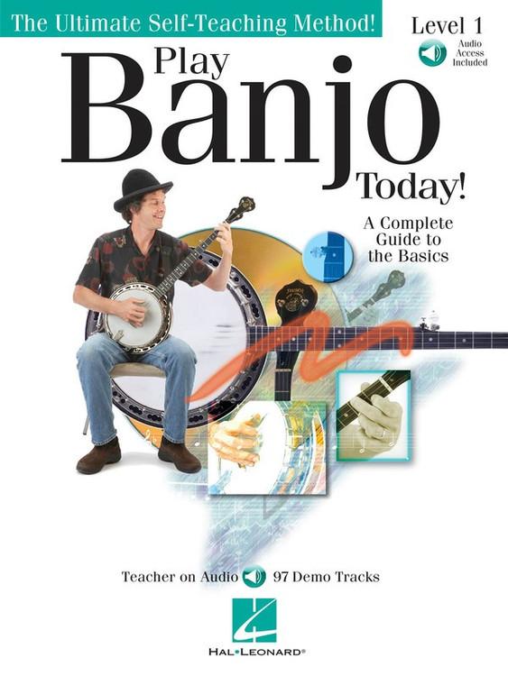 PLAY BANJO TODAY LVL1 BK/OLA SHEET MUSIC BOOK