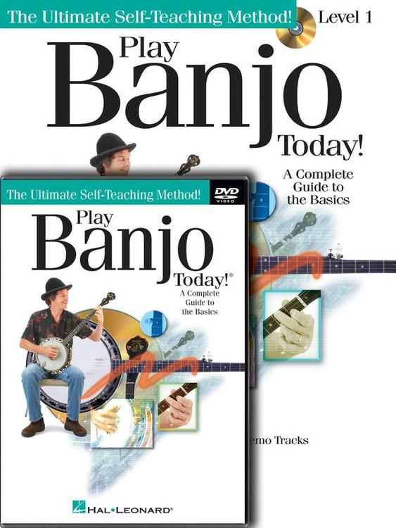 PLAY BANJO TODAY BEGINNER PACK BK/CD/DVD SHEET MUSIC BOOK