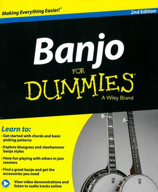 BANJO FOR DUMMIES 2ND ED BK/OLA SHEET MUSIC BOOK