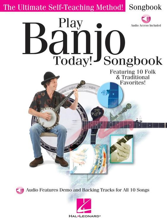 PLAY BANJO TODAY! SONGBOOK BK/OLA SHEET MUSIC BOOK