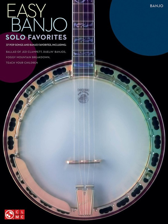 EASY BANJO SOLO FAVORITES SHEET MUSIC BOOK