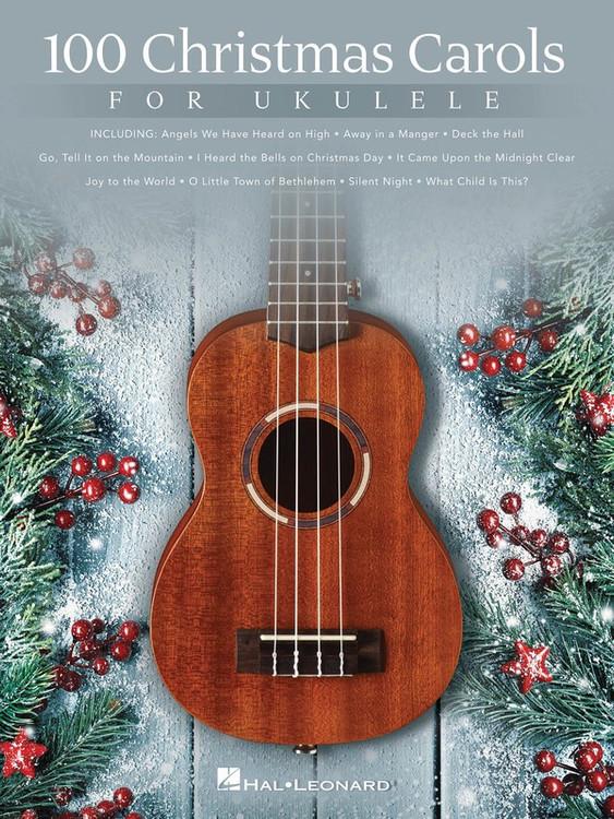 100 CHRISTMAS CAROLS FOR UKULELE SHEET MUSIC BOOK