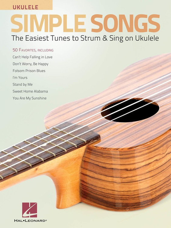 SIMPLE SONGS FOR UKULELE SHEET MUSIC BOOK