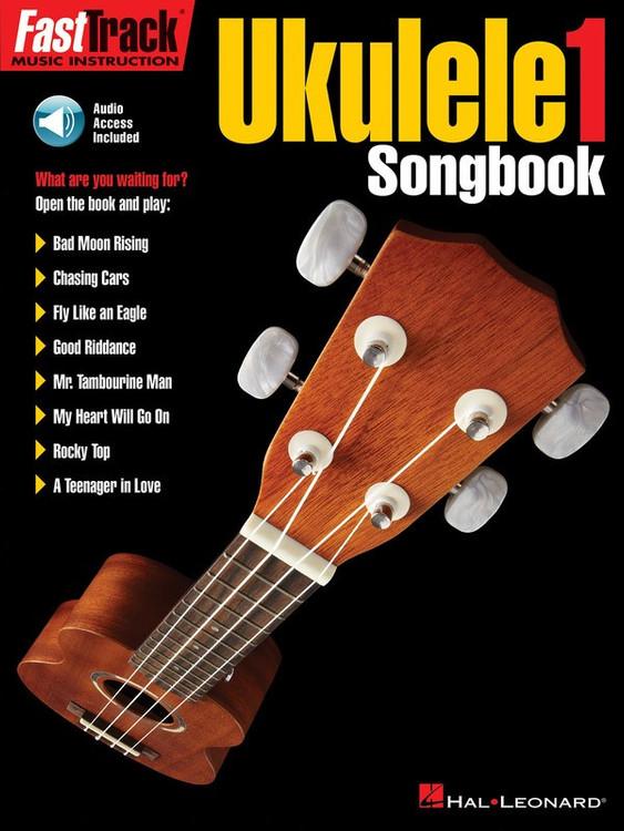 FASTTRACK UKULELE SONGBOOK LEV 1 BK/OLA SHEET MUSIC BOOK