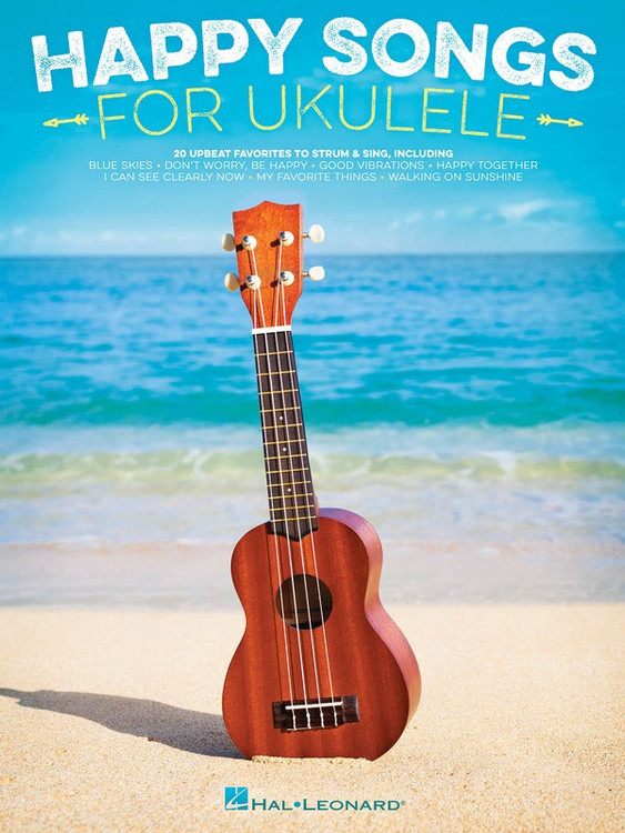 HAPPY SONGS FOR UKULELE SHEET MUSIC BOOK