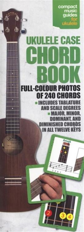 UKULELE CASE CHORDBOOK FULL COLOUR SHEET MUSIC BOOK