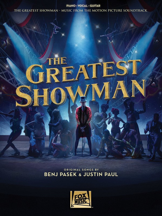 The Greatest Showman PVG Sheet Music Book