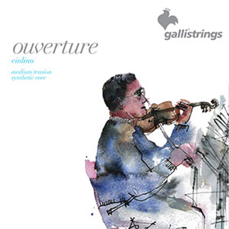 Galli - Overture Violin 4/4 Synthetic Core String Set