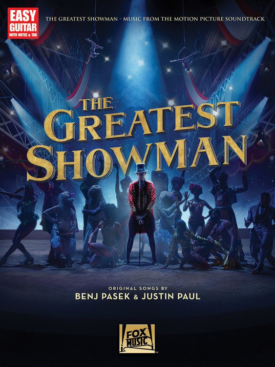 The Greatest Showman Movie- Easy Guitar with Notes & TAB Sheet Music Book