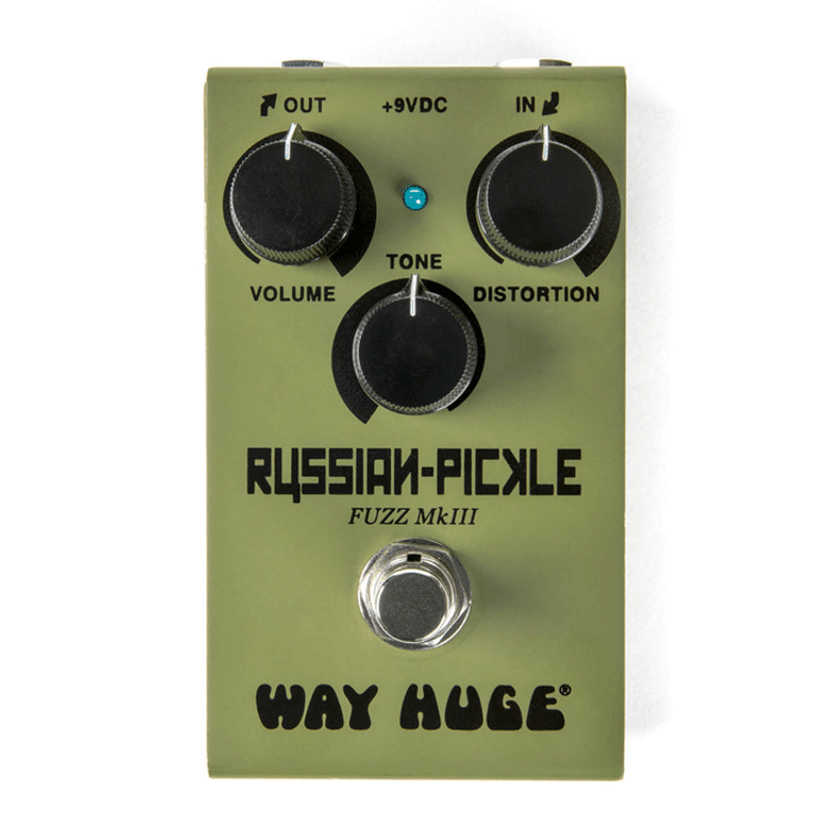 WAY HUGE - Smalls  Russian-Pickle Fuzz Guitar Effects Pedal