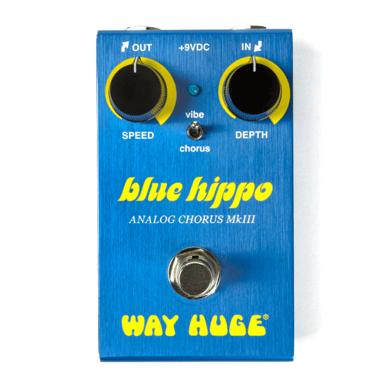 WAY HUGE - Smalls  Blue Hippo Analog Chorus Guitar Effects Pedal
