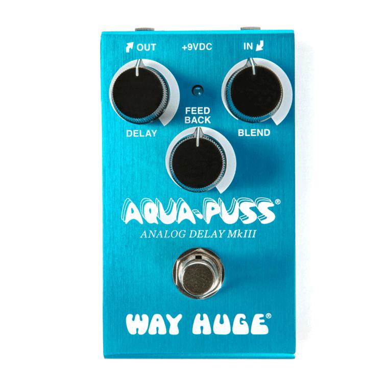 WAY HUGE - Smalls  Aqua-Puss  Analog Delay Guitar Effects Pedal