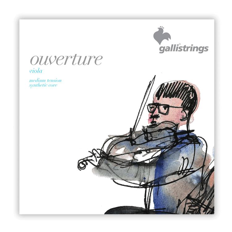 GALLI - Ouverture Viola String 4/4 set