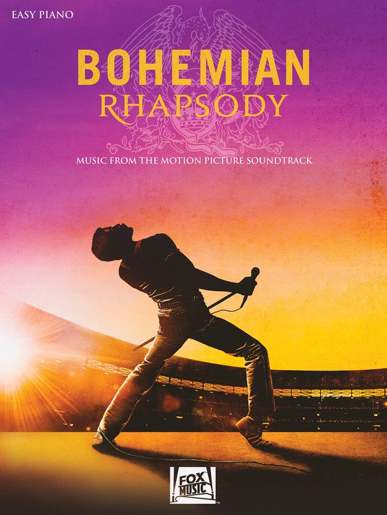 Bohemian Rhapsody Motion Picture Soundtrack Easy Piano Print Music Book