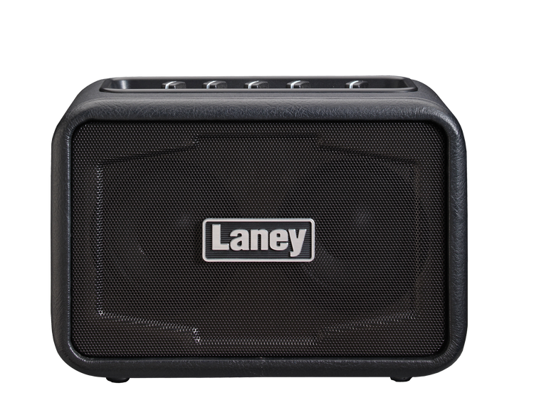 LANEY Mini Stereo Ironheart Guitar Amp with Bluetooth. Black