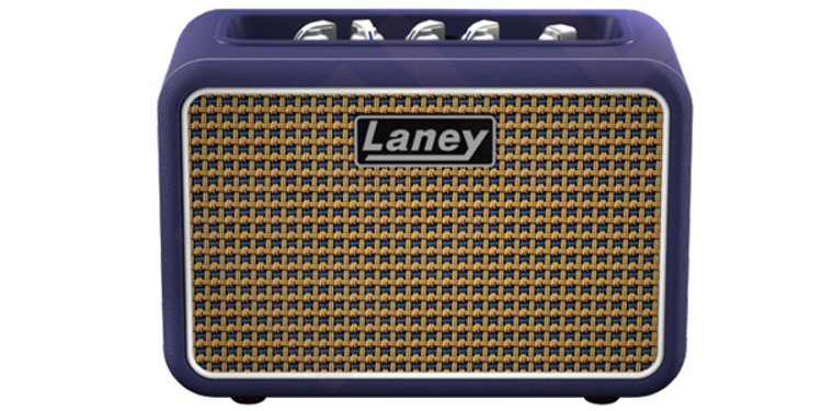 LANEY Mini Stereo Lionheart Guitar Amp with Bluetooth. Blue