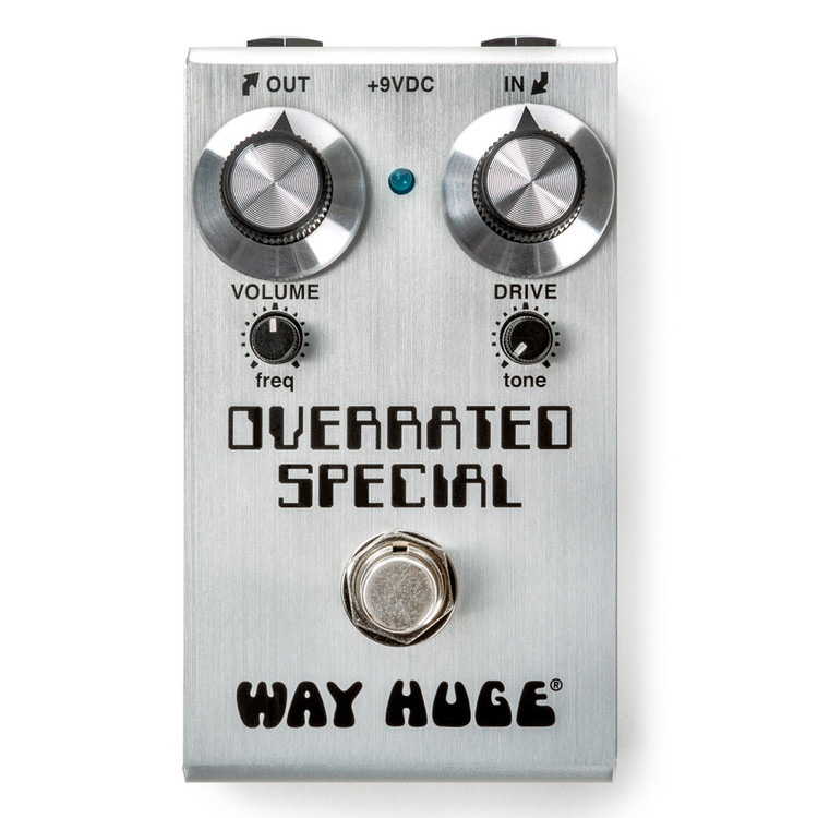 WAY HUGE Smalls Overrated Special Overdrive Guitar Effects Pedal