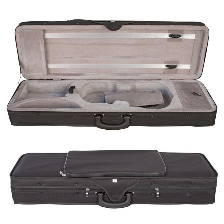 V-CASE 4/4 violin case. Moulded polystyrene