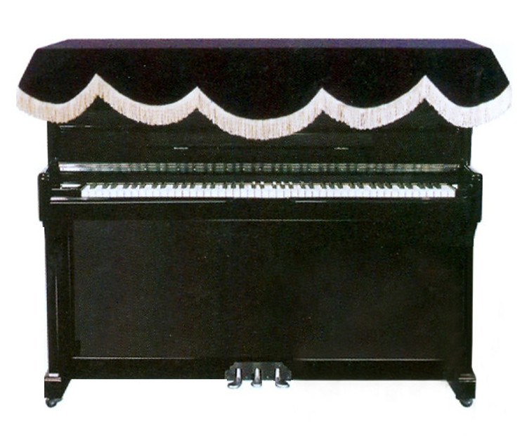 Top Cover for Upright Piano - Black