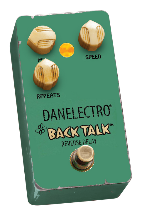 Nobody does reverse delay like this! Invented by Danelectro in 1999, this pedal has achieved cult status. Originals cost a small fortune. Why? Because of its warm violin-like, organ-like tone. It literally flips the phrase you just played and plays it backwards. There's nothing like it!