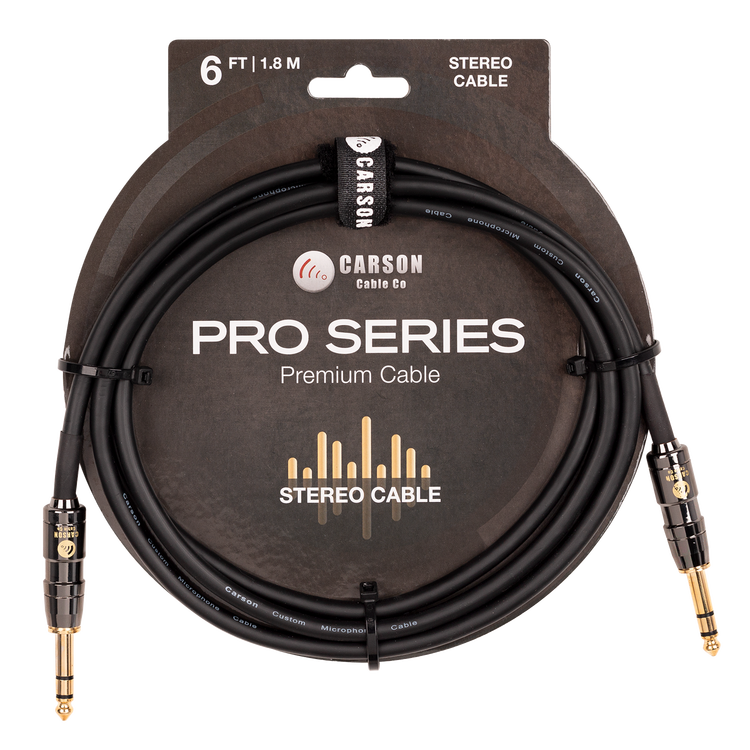 6 foot stereo instrument/audio cable.