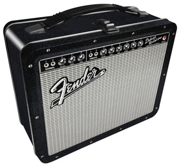 Fender - Black Tolex lunch box