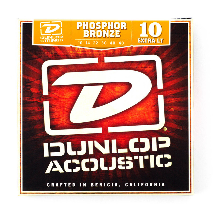 Dunlop   Acoustic Guitar Strings   10/48 (Extra Light)