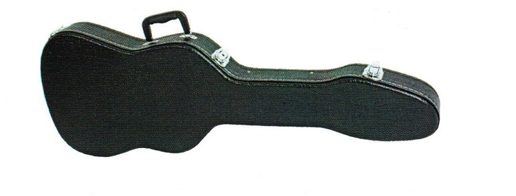 V Case   6 String Electric Guitar Case   Strat Shaped