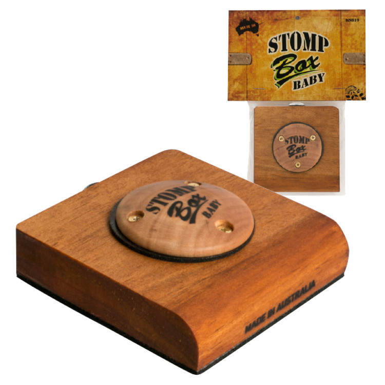Stomp Box Baby   Made in Australia by Stu Box